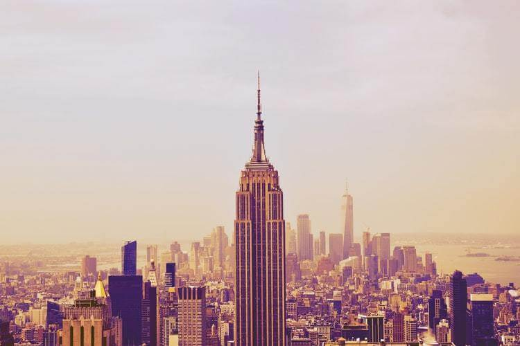 If you move cross country to New York, you can visit the city's tallest buildings