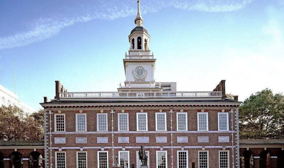 when you move long distance to Philadelphia, you can visit Independence hall