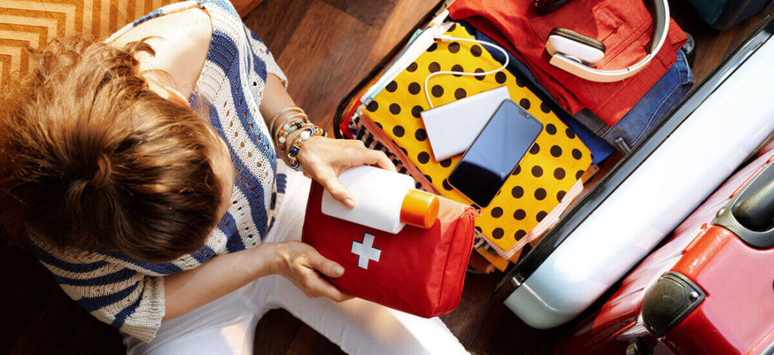 If you are moving long distance, it's important to get first aid kit